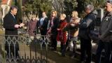 U hrobky rodiny Karla Pippicha - 18.2.2014